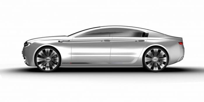 Qoros 9 Sedan Concept Side - Surf4cars