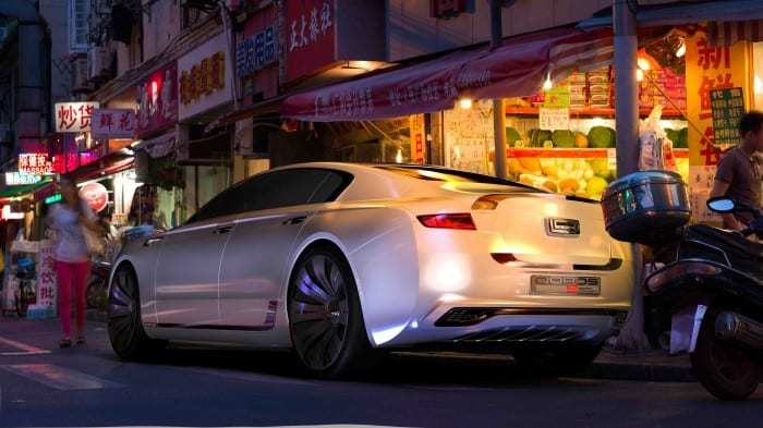 Qoros 9 Sedan Concept Static - Surf4cars