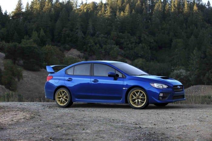 Subaru WRX STI Side - Surf4cars