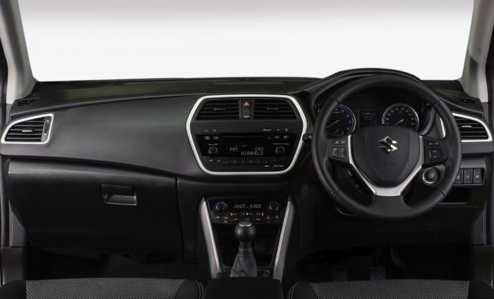 Suzuki SX4 Interior - Surf4cars