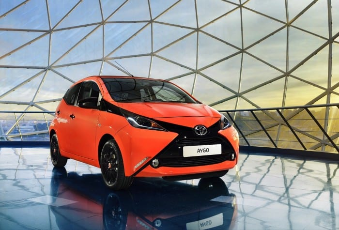 Toyota Aygo Front - Surf4cars