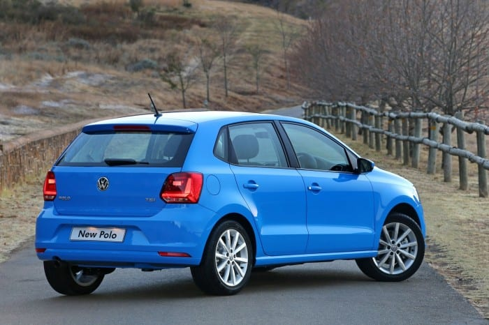 Volkswagen Polo Rear Side - Surf4cars