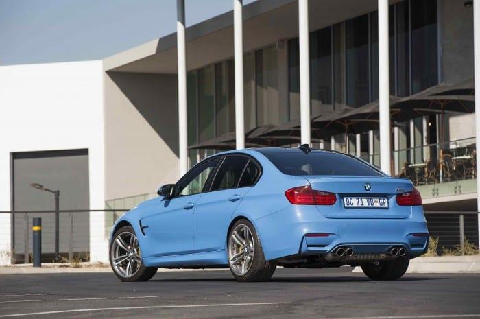 BMW M3 Sedan Rear Side - Surf4cars