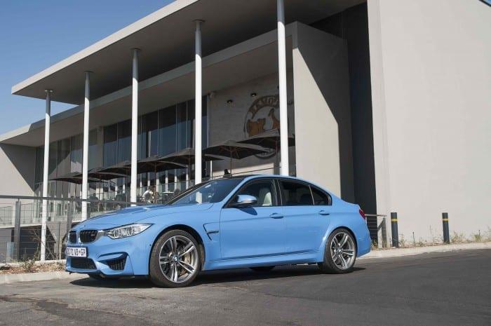 BMW M3 Sedan Side - Surf4cars