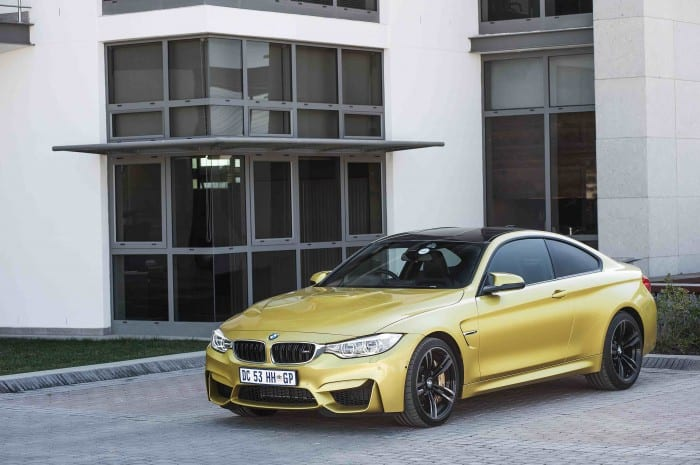 BMW M4 Coupe Side - Surf4cars