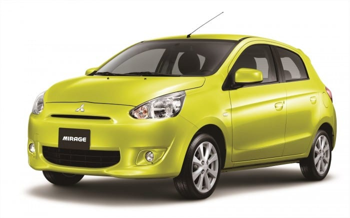 Mitsubishi Mirage = Surf4cars