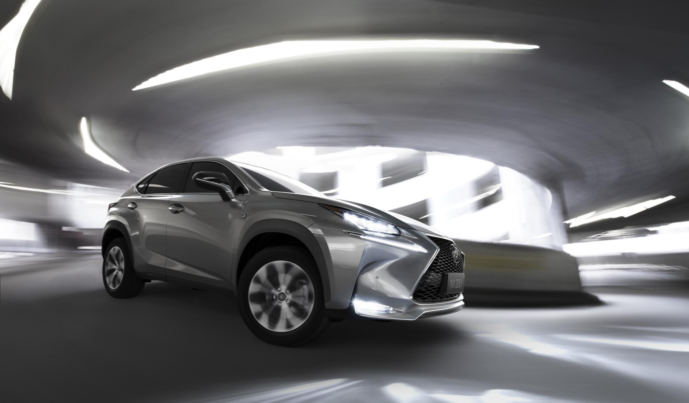 Lexus NX Crosses Over: Latest News