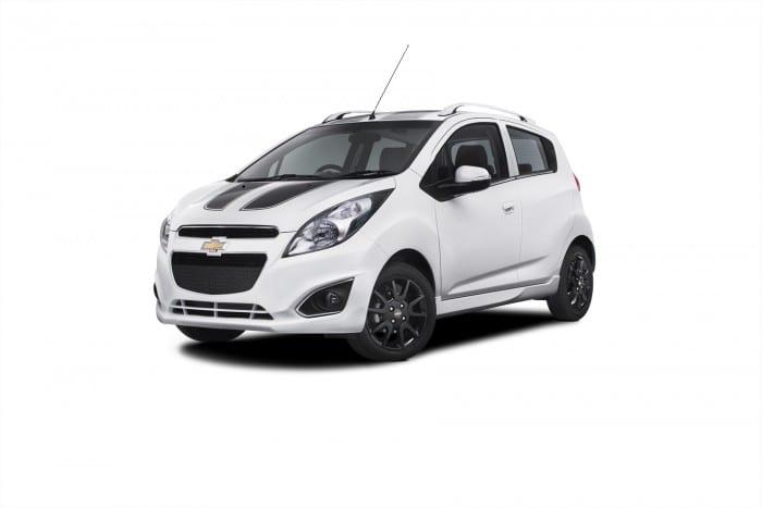 Chevrolet Spark White - Surf4cars