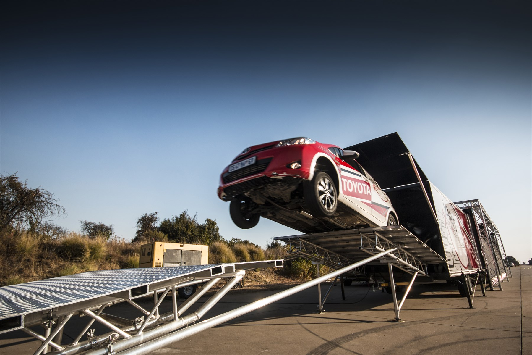 X-Fighters meets Extreme Yaris: Latest News