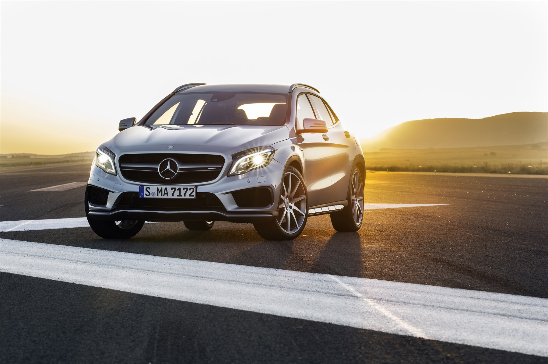 New Mercedes-Benz GLA 45 AMG Unleashed: Latest News