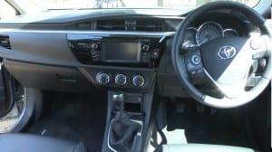 Interior Corolla