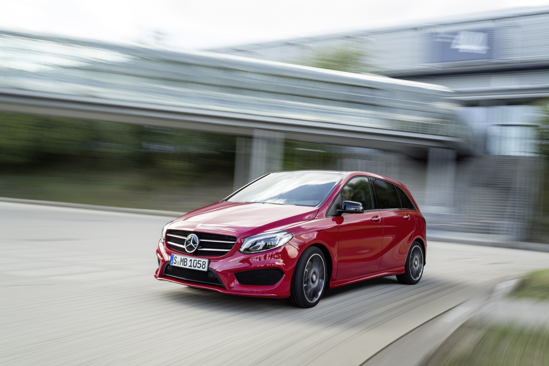 Mercedes-Benz B-Class goes under the knife | Latest News