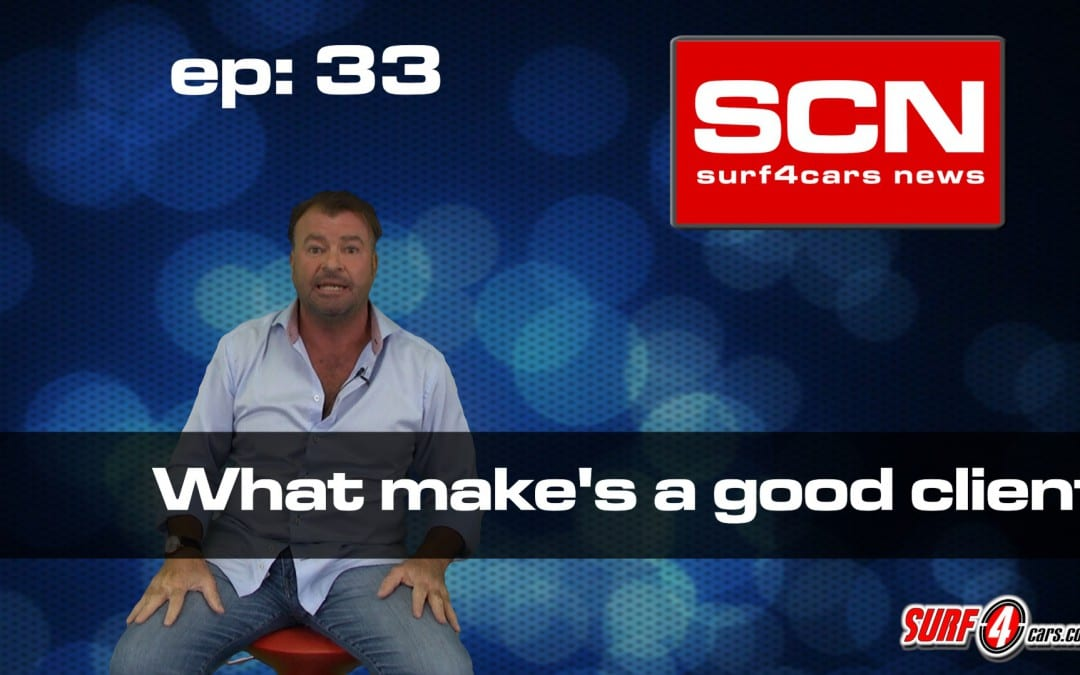 Surf4Cars News EP.33 | What make's a good client