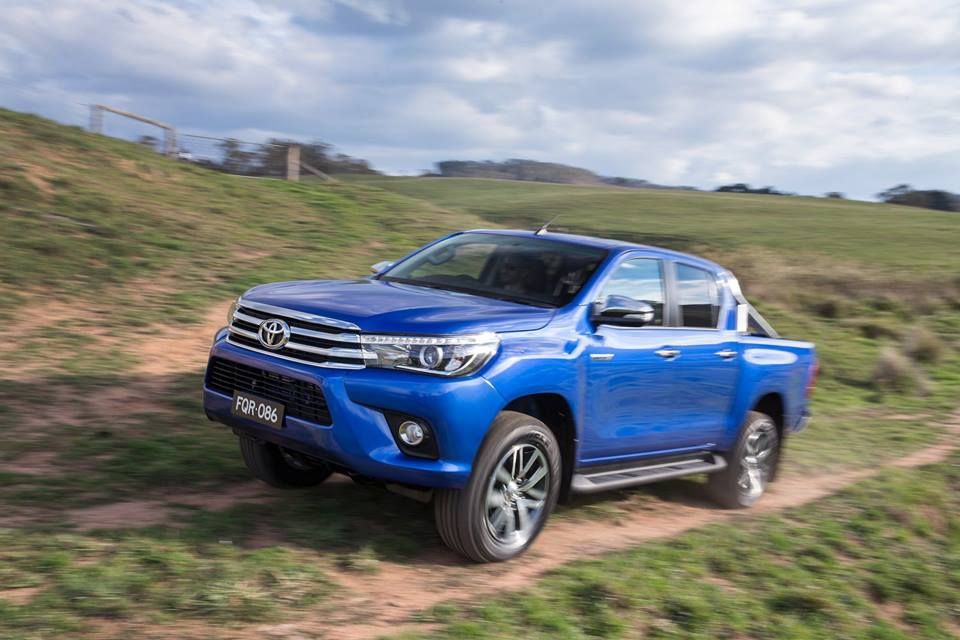 New Hilux finally shows its face | Latest News