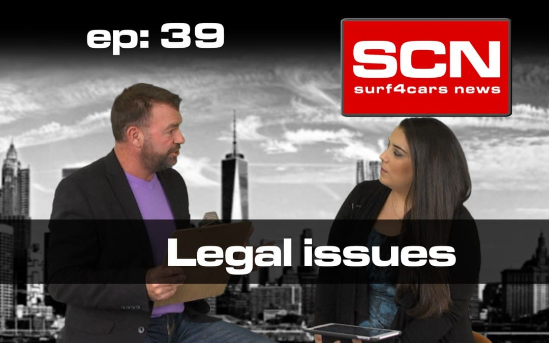 Surf4Cars News EP.39 | Legal issues