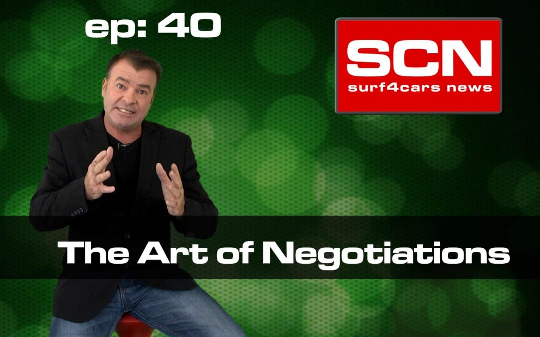 Surf4Cars News EP.40 | Art of negotiation
