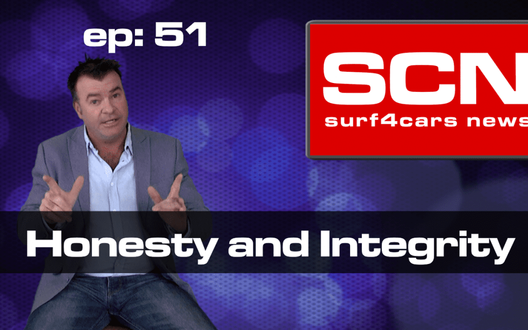 Surf4Cars News Episode 51 | Honesty and Integrity