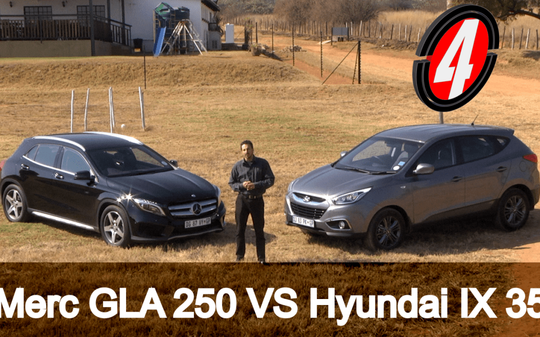 Mercedes Benz GLA 250 VS Hyundai IX 35 | New Car Review