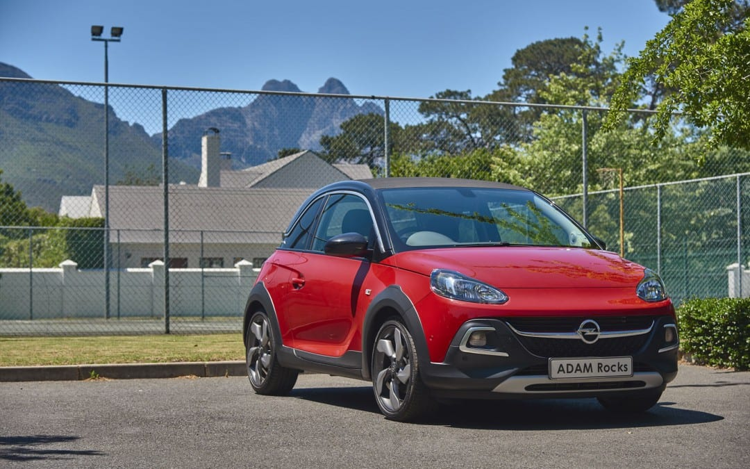 Opel Adam Rocks. Really, it does! | Latest News