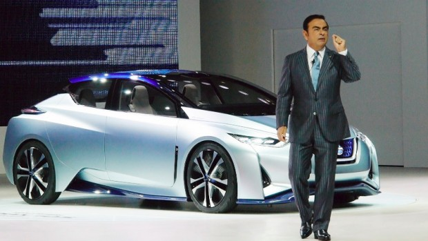 Nissan Reveals World's First Solid-Oxide Fuel Cell Vehicle | Latest News