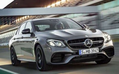 Mercedes-AMG E63 S at your doorstep