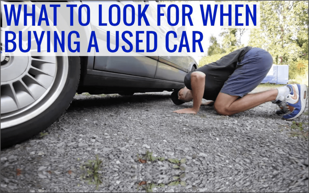 How to test drive a second hand Car