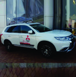 A solid Landing with the new Mitsubishi Outlander