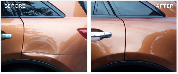 car paintless removal dented blog doors dent vs traditional door from remove