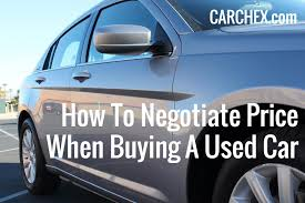 how to negotiate for a used car motoring news. Black Bedroom Furniture Sets. Home Design Ideas