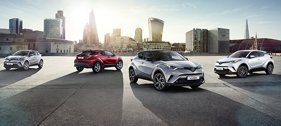 Toyota C-HR Touches South African soil