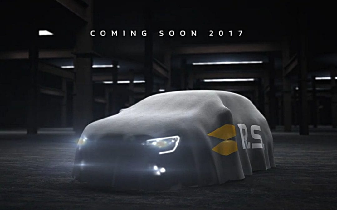 Renault Megane RS teased ahead of 2017 reveal