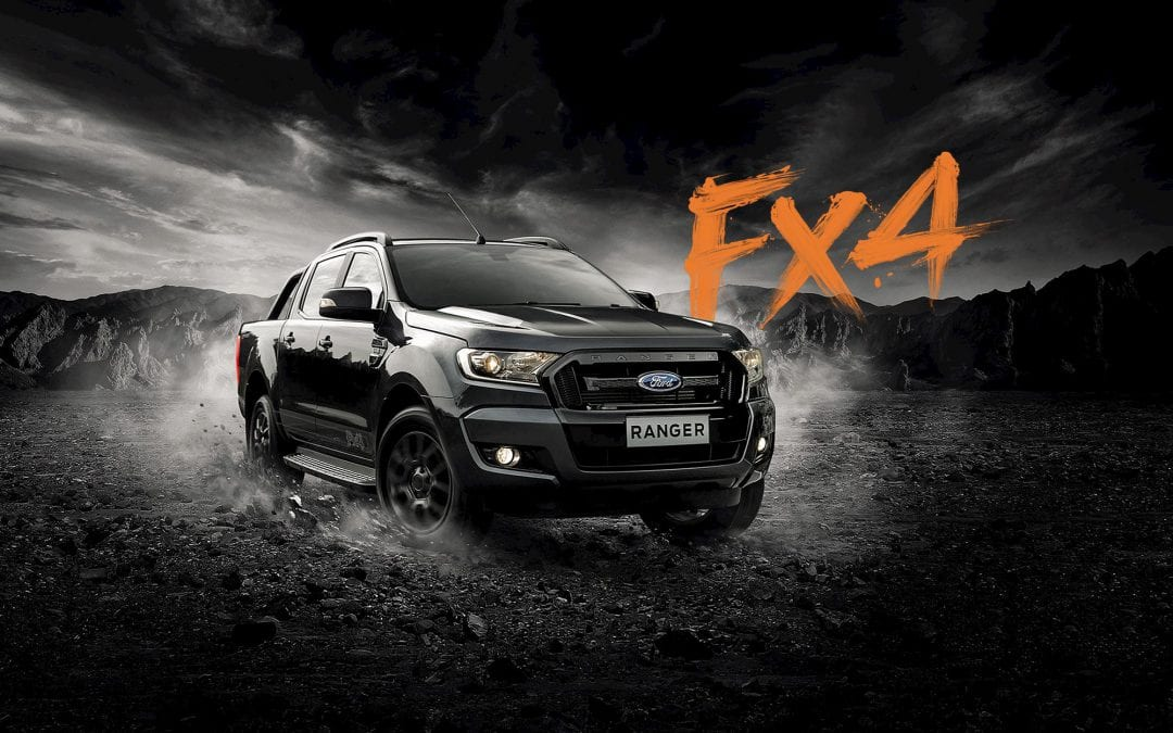 Ford's limited edition Ranger Fx4