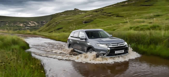 Mitsubishi Outlander: It must be love.