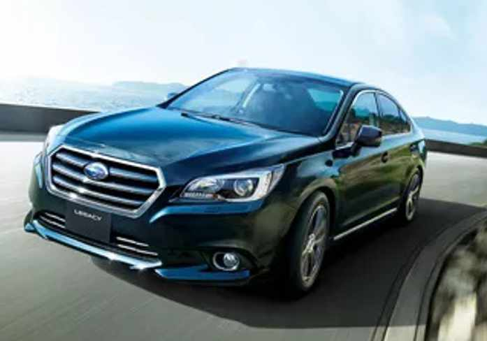Subaru Legacy – Lightning and the Queen