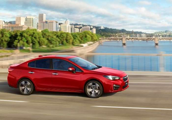 Subaru Impreza Eyesight – Keeping Your Eye on the Ball