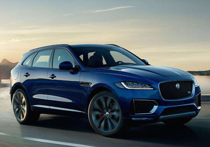 Jaguar F-Pace – The Real Black Panther