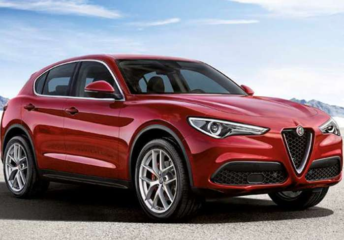 Alfa Stelvio – Centre of Attention