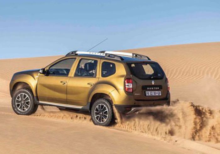 Kicking up Dust | Group 1 Renault the Glen: Renault Duster