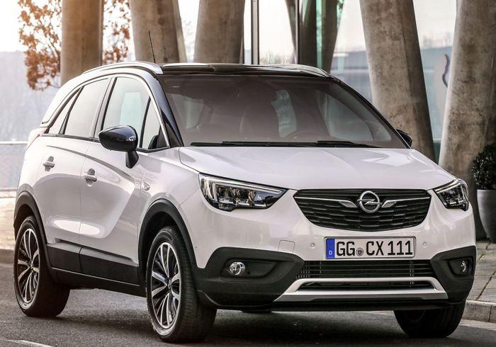 The New Opel Crossland X Cosmo Auto – the great escape