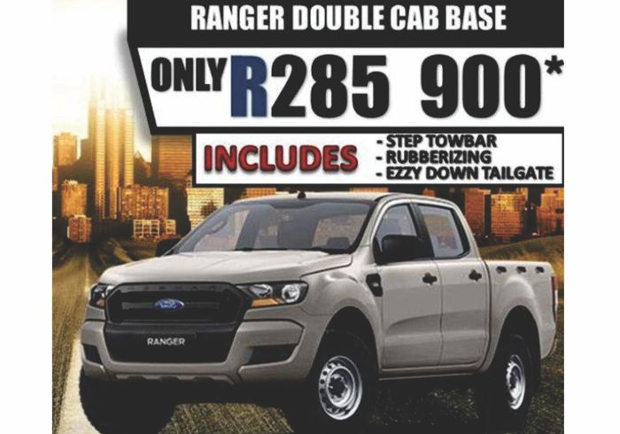 Consolidated Auto: Ford Ranger – riding high, built to last and now on SPECIAL OFFER
