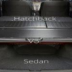 Hatchbacks vs sedan