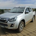 The New Isuzu D-MAX 4x4 Double-cab LX Auto - Driven