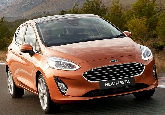 Consolidated Auto – Ford Fiesta 1.0 turbocharged EcoBoost Trend – modern & stylish