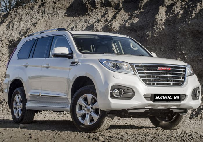 Haval GWM Alberton – Haval H9 8AT 4×4 – luxurious & spacious