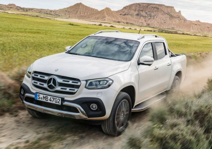 Mercedes Benz Phases Out the X-Class