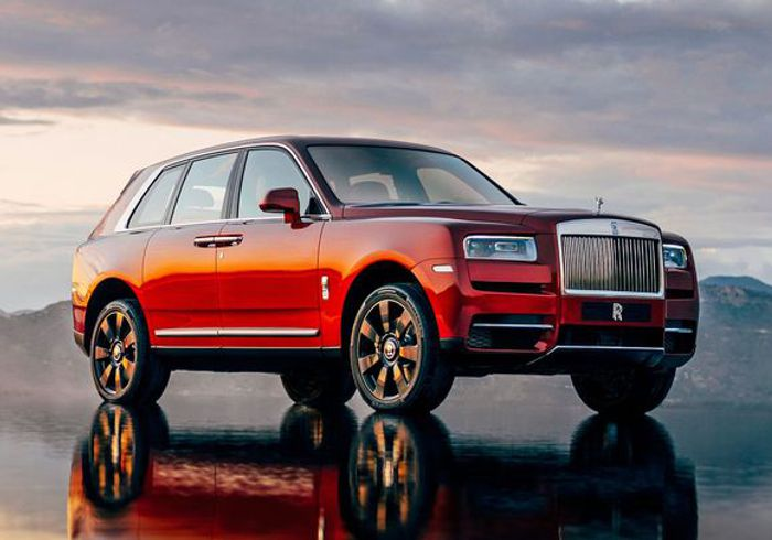 Introducing the new Rolls Royce Cullinan