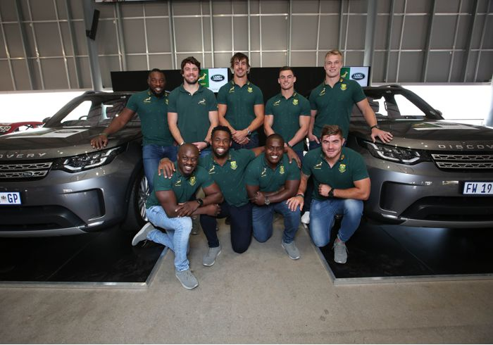 What or in this case, Who Drives the Springboks