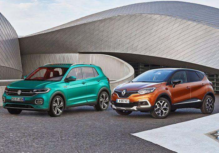 VW T-Cross vs Renault Captur – What's your pick?
