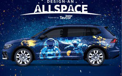 Intergalactic Themed VW Tiguan
