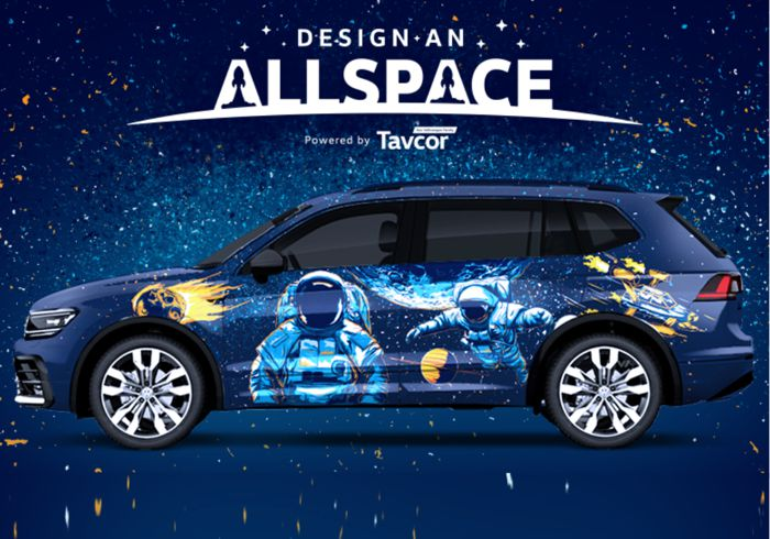 Intergalactic Themed VW Tiguan